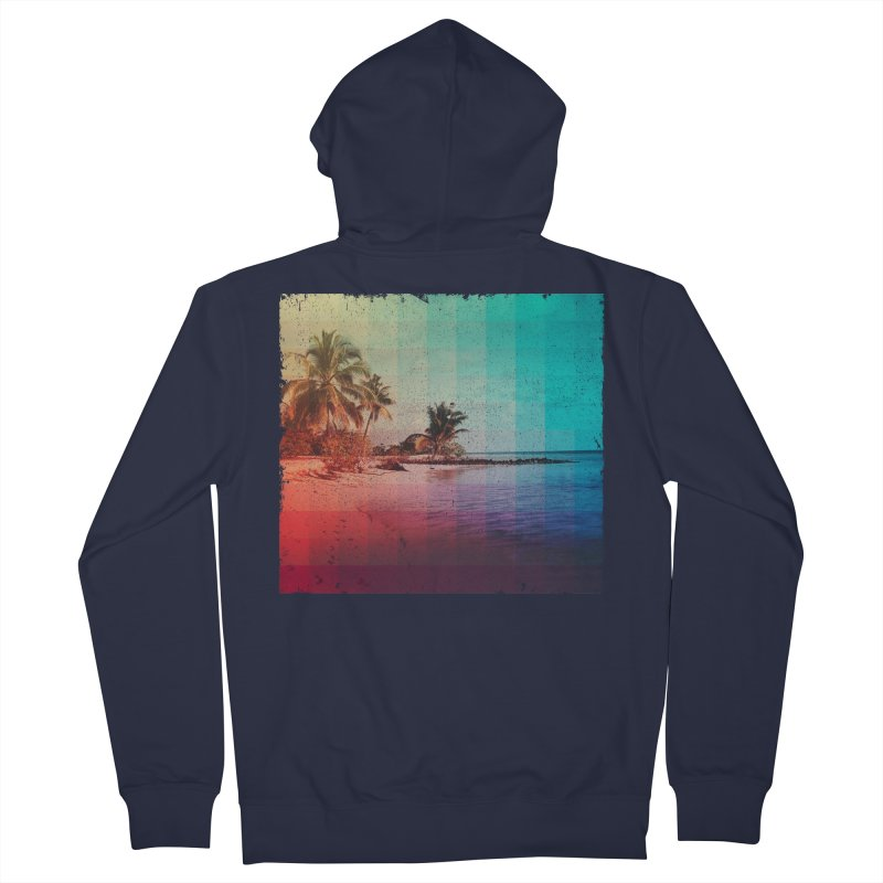Spectrum Men's Zip-Up Hoody by smith's Artist Shop