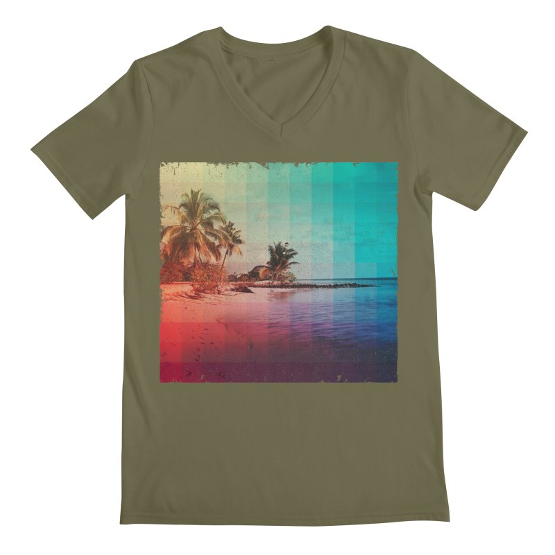 Spectrum Men's V-Neck by smith's Artist Shop