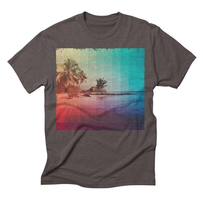 Spectrum Men's Triblend T-shirt by smith's Artist Shop