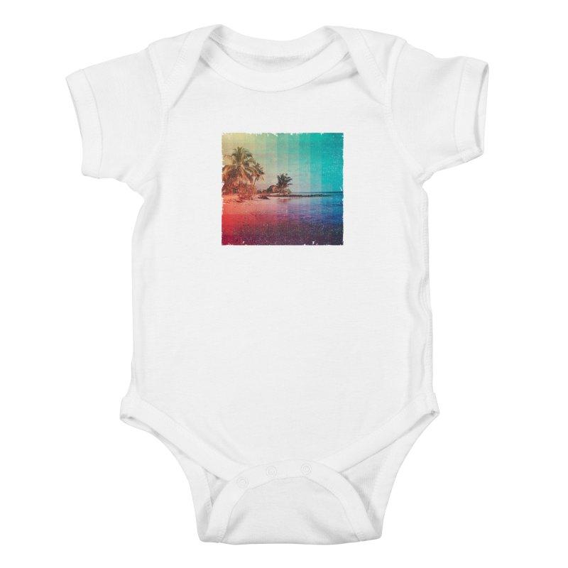 Spectrum Kids Baby Bodysuit by smith's Artist Shop