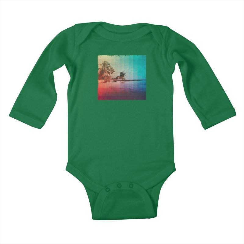 Spectrum Kids Baby Longsleeve Bodysuit by smith's Artist Shop