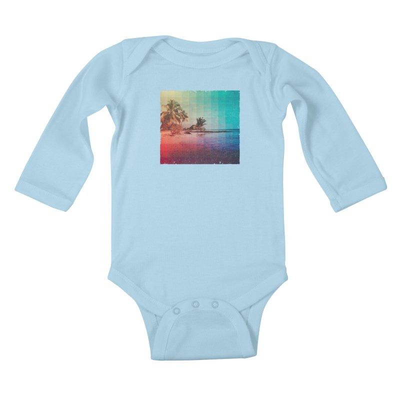 Spectrum Kids Baby Longsleeve Bodysuit by smith's Artist Shop