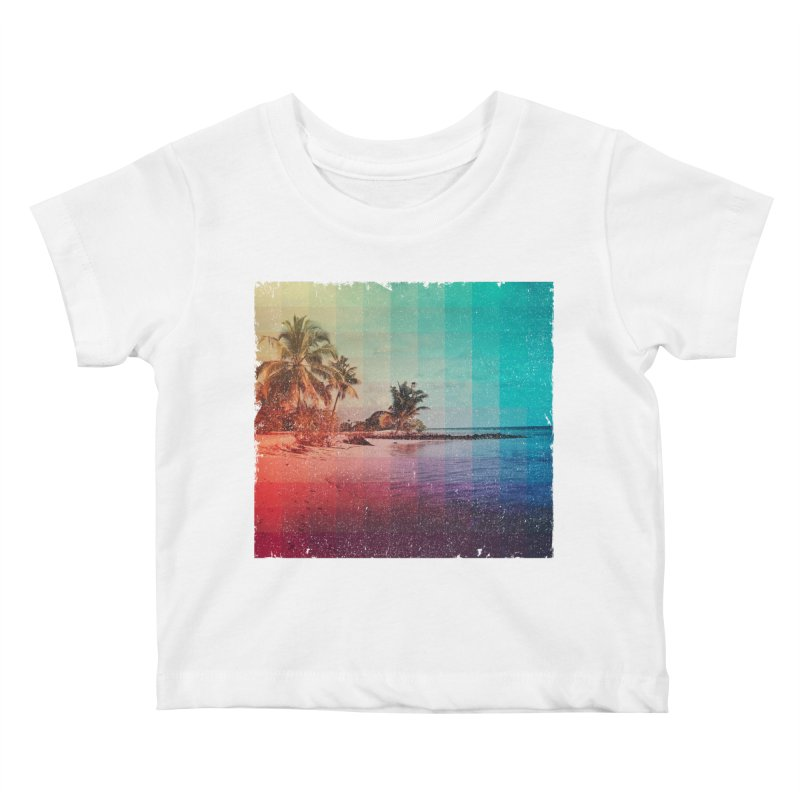Spectrum Kids Baby T-Shirt by smith's Artist Shop