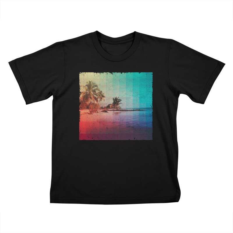 Spectrum Kids T-shirt by smith's Artist Shop