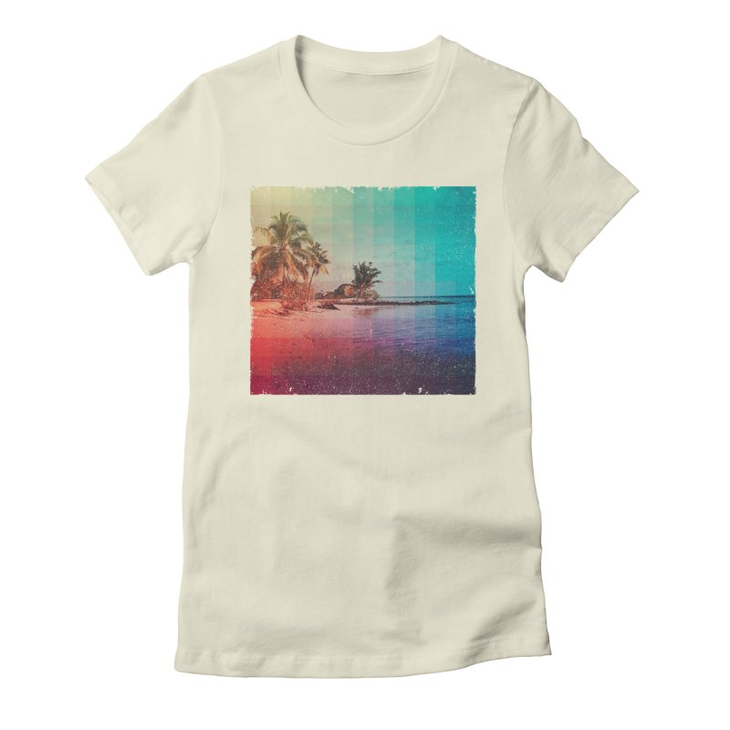 Spectrum Women's Fitted T-Shirt by smith's Artist Shop