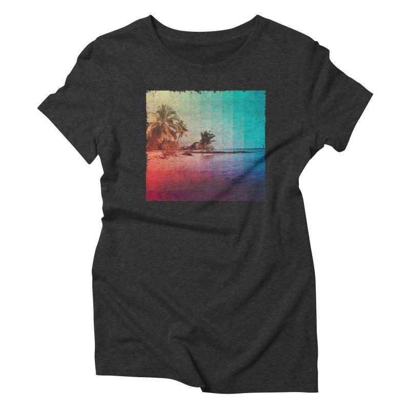 Spectrum Women's Triblend T-shirt by smith's Artist Shop