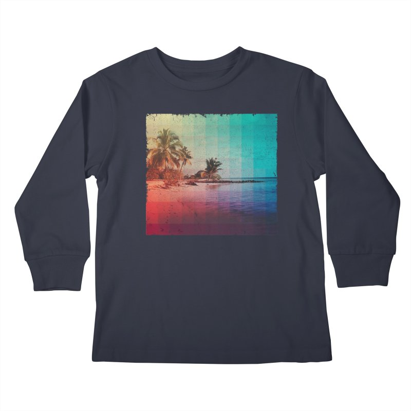 Spectrum Kids Longsleeve T-Shirt by smith's Artist Shop