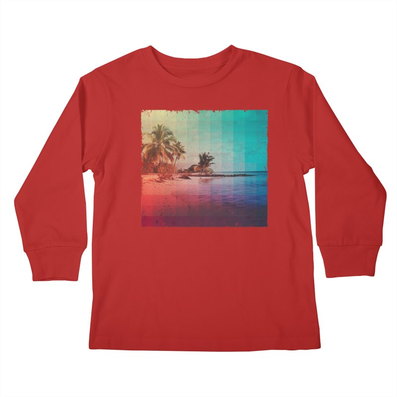 Spectrum Kids Longsleeve T-Shirt by smith's Artist Shop