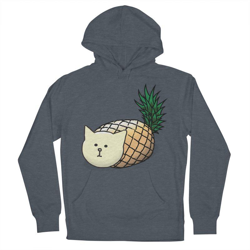 Pineapple Cat Women's Pullover Hoody by smith's Artist Shop