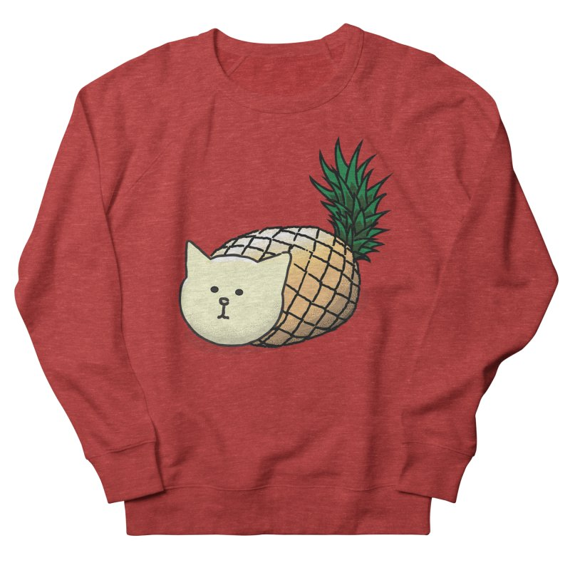 Pineapple Cat Women's Sweatshirt by smith's Artist Shop