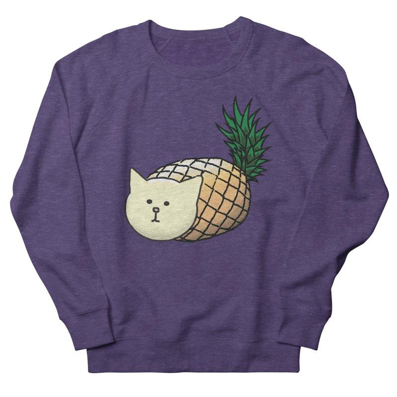 Pineapple Cat Men's Sweatshirt by smith's Artist Shop