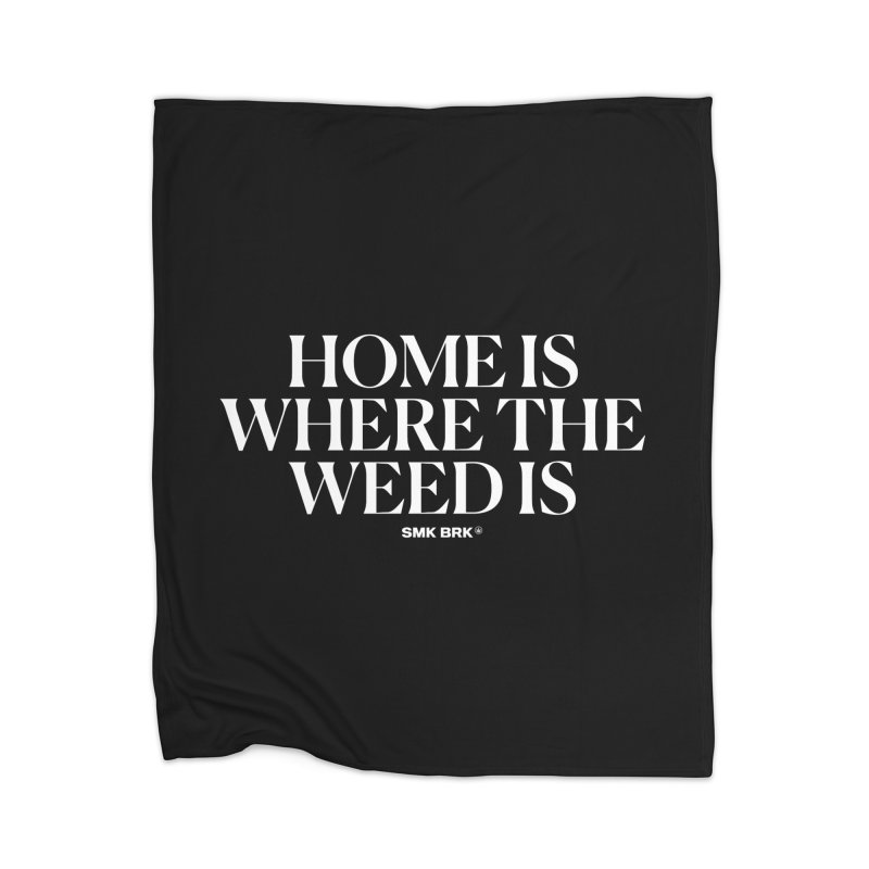 AT HOME Home Blanket by SMK HAUS Pop-Up