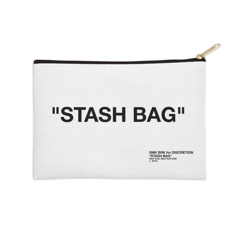 FOR SOMETHING Accessories Zip Pouch by SMK HAUS Pop-Up