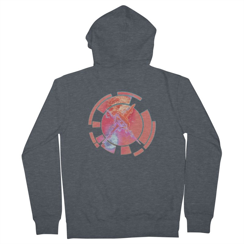 Twin Boom! Women's French Terry Zip-Up Hoody by smokeapes's Artist Shop