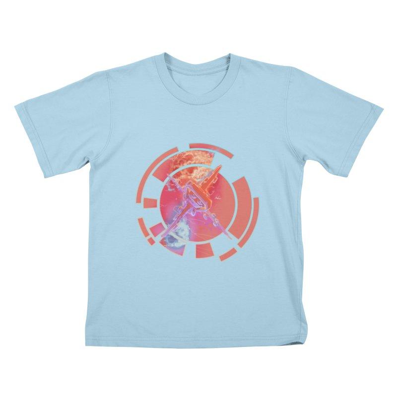 Twin Boom! Kids T-Shirt by smokeapes's Artist Shop