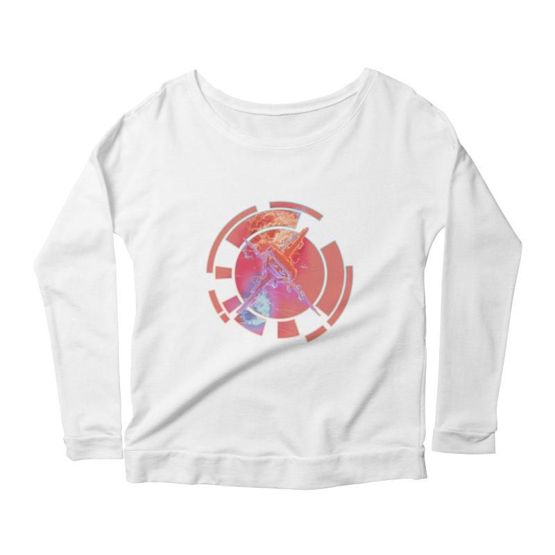 Twin Boom! Women's Longsleeve T-Shirt by smokeapes's Artist Shop