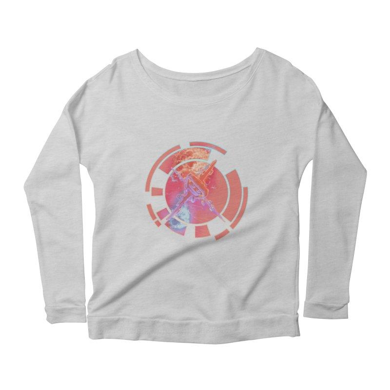 Twin Boom! Women's Scoop Neck Longsleeve T-Shirt by smokeapes's Artist Shop