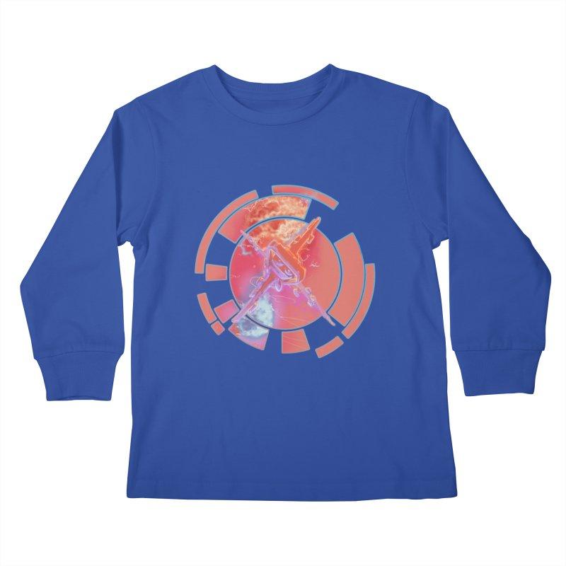 Twin Boom! Kids Longsleeve T-Shirt by smokeapes's Artist Shop