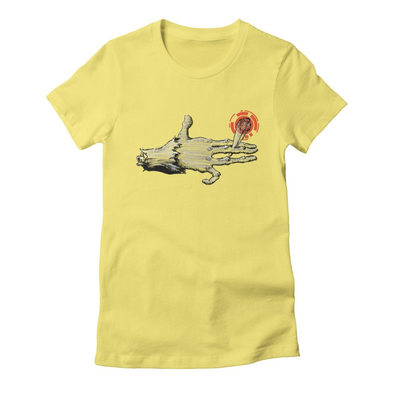 Wish Fulfillment Women's Fitted T-Shirt by smokeapes's Artist Shop