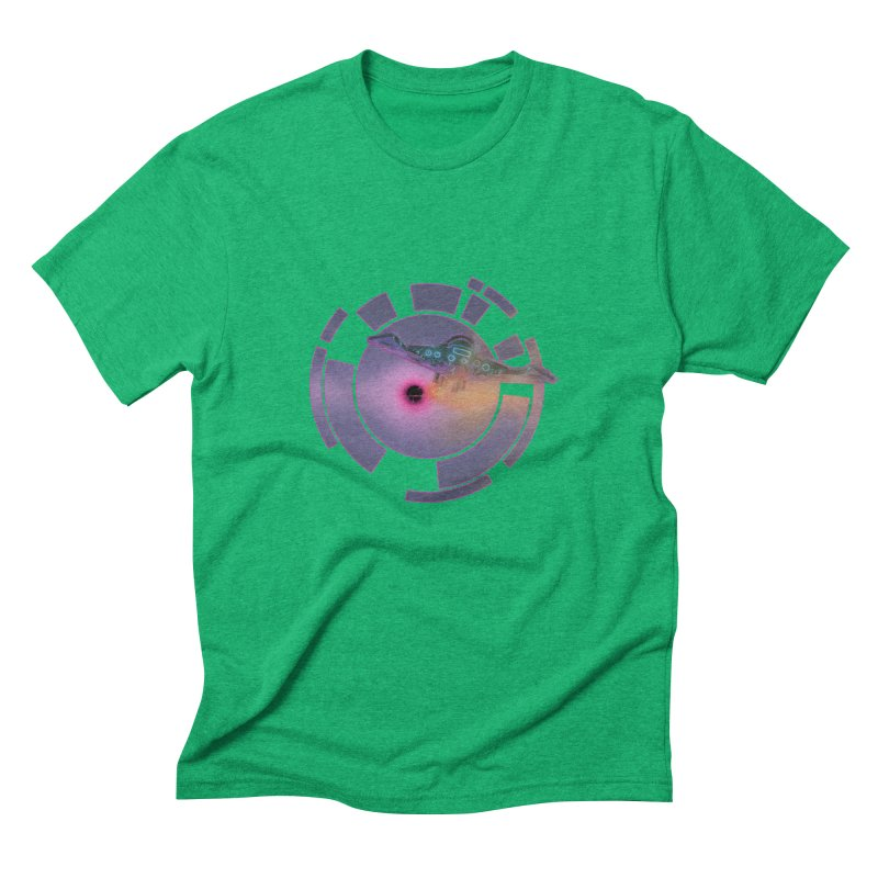The ChillStar. Men's Triblend T-Shirt by smokeapes's Artist Shop