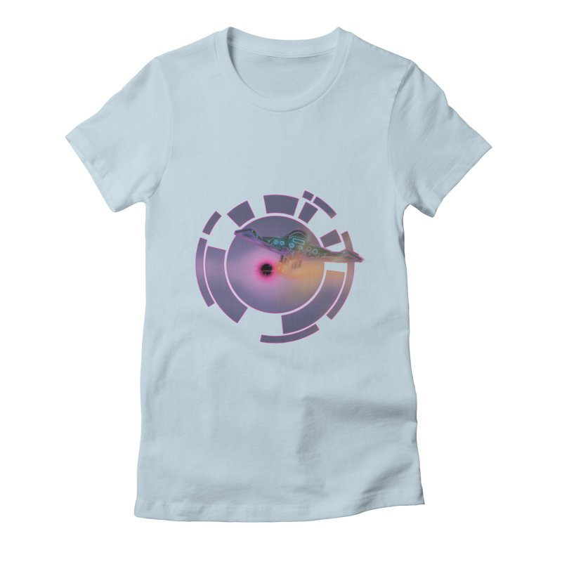 The ChillStar. Women's Fitted T-Shirt by smokeapes's Artist Shop