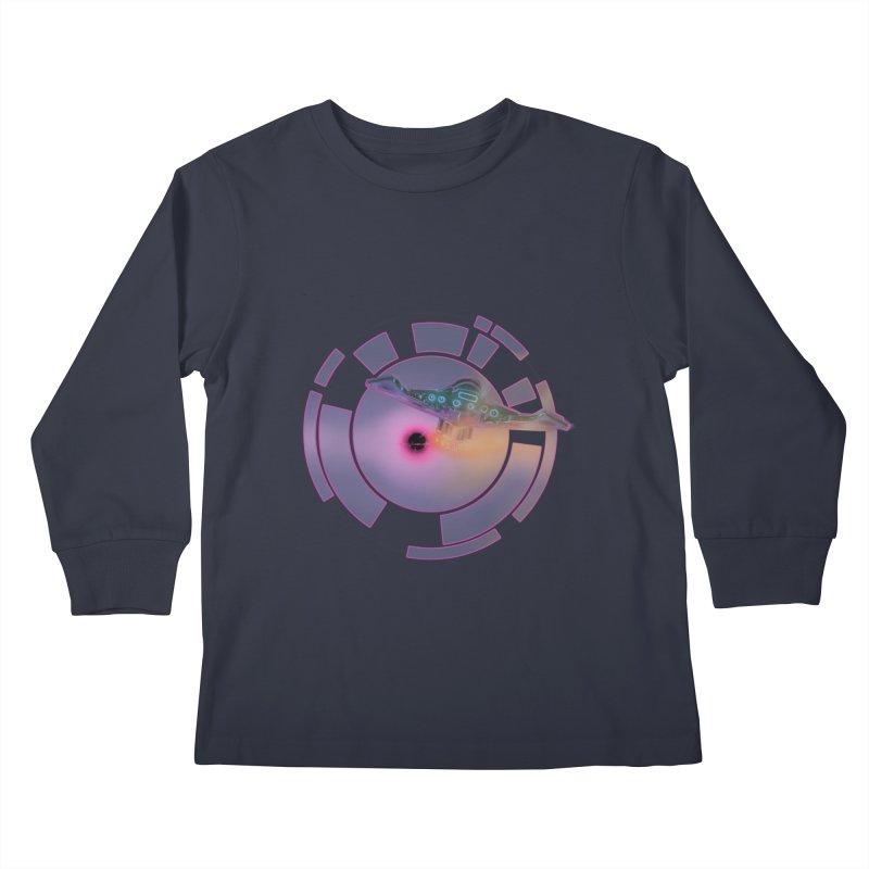 The ChillStar. Kids Longsleeve T-Shirt by smokeapes's Artist Shop