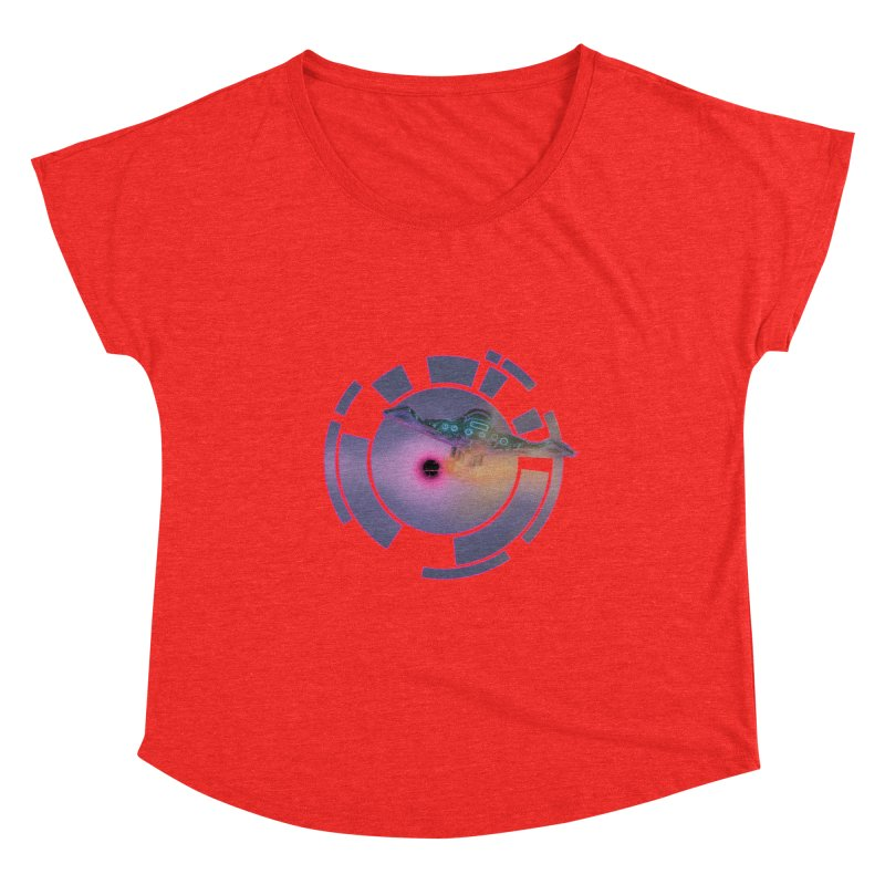 The ChillStar. Women's Scoop Neck by smokeapes's Artist Shop