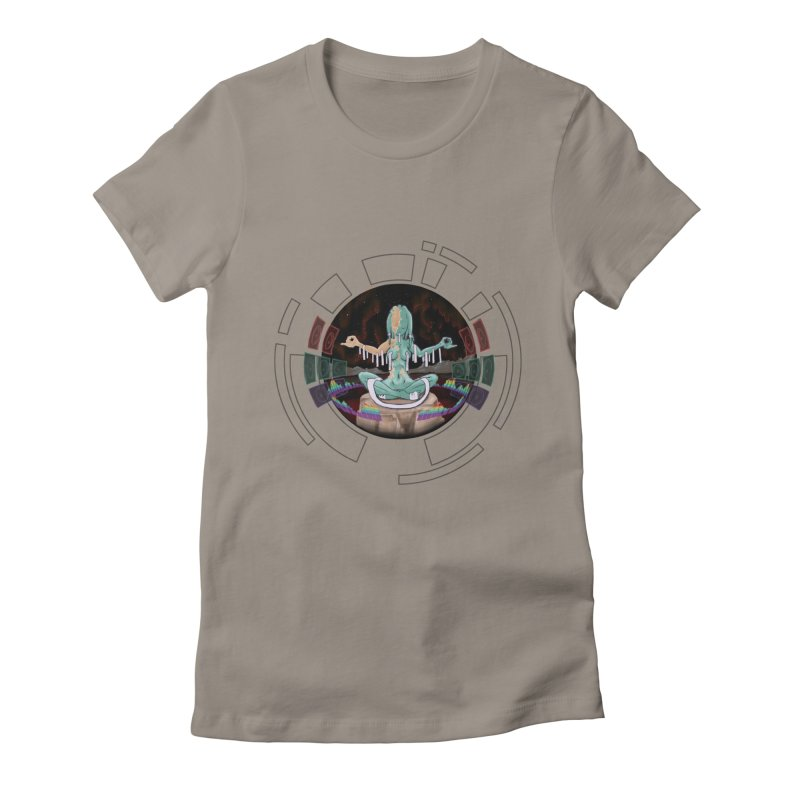 Faraway Mind Women's Fitted T-Shirt by smokeapes's Artist Shop
