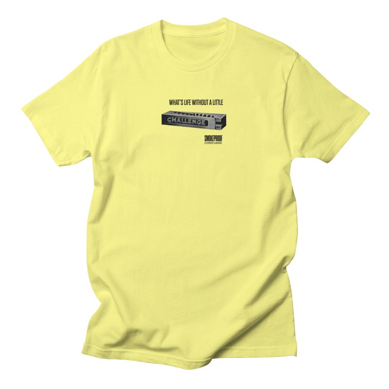 Life without Challenge Men's T-Shirt by Smokeproof