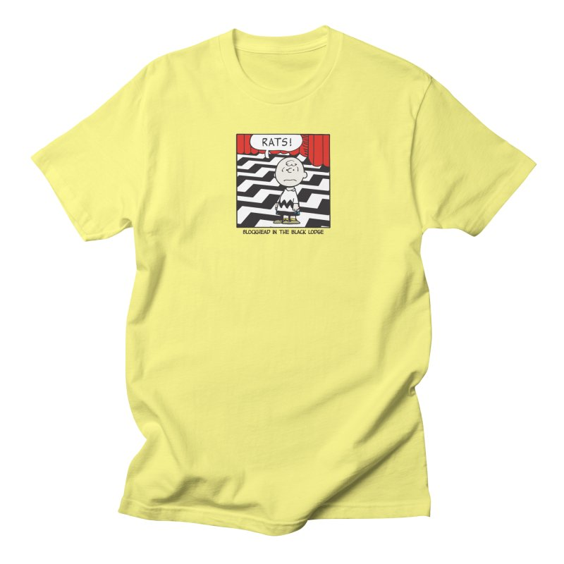 Blockhead in the Black Lodge Men's T-Shirt by Smokeproof