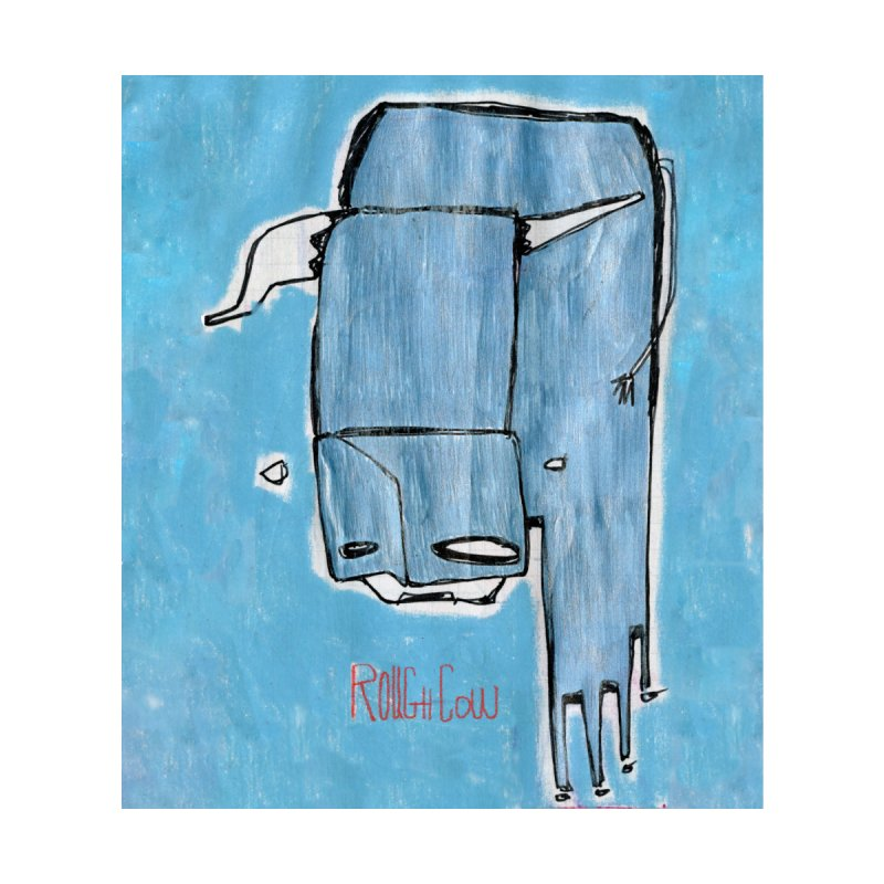 Rough Cow: Steely Dancer Accessories Greeting Card by Smokeproof