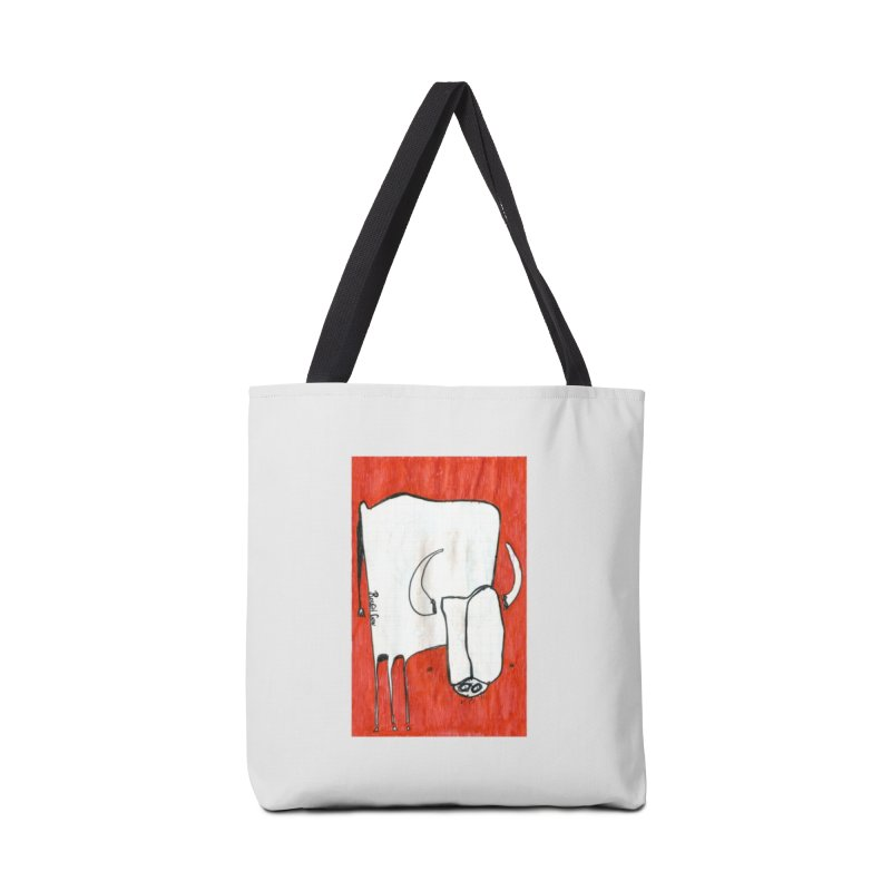 Rough Cow: Lil' Redbook Accessories Bag by Smokeproof