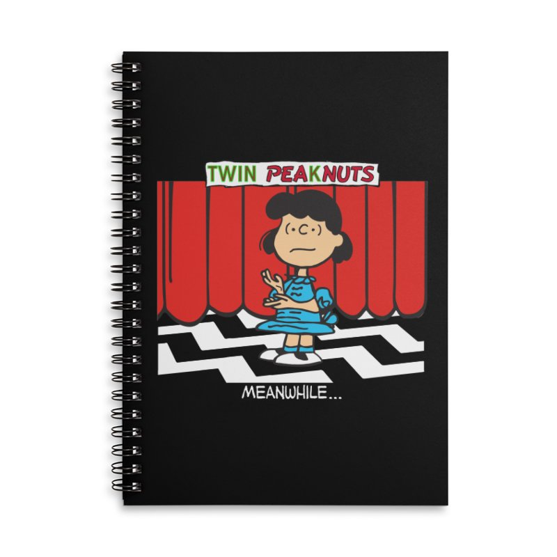 I'll See You in 25 Years (wht) Accessories Notebook by Smokeproof