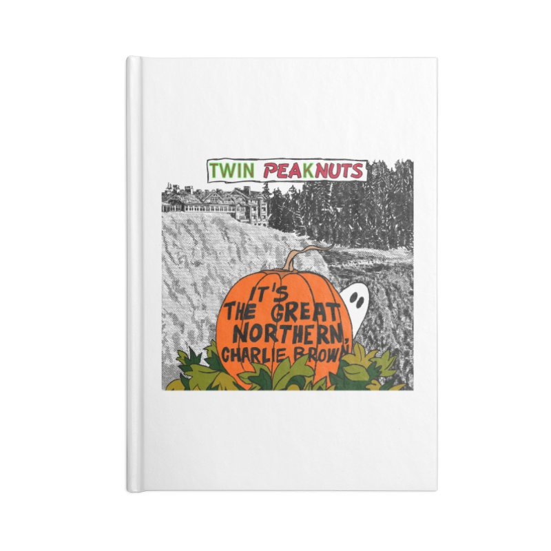 A Most Sincere Pumpkin Patch (blk) Accessories Notebook by Smokeproof
