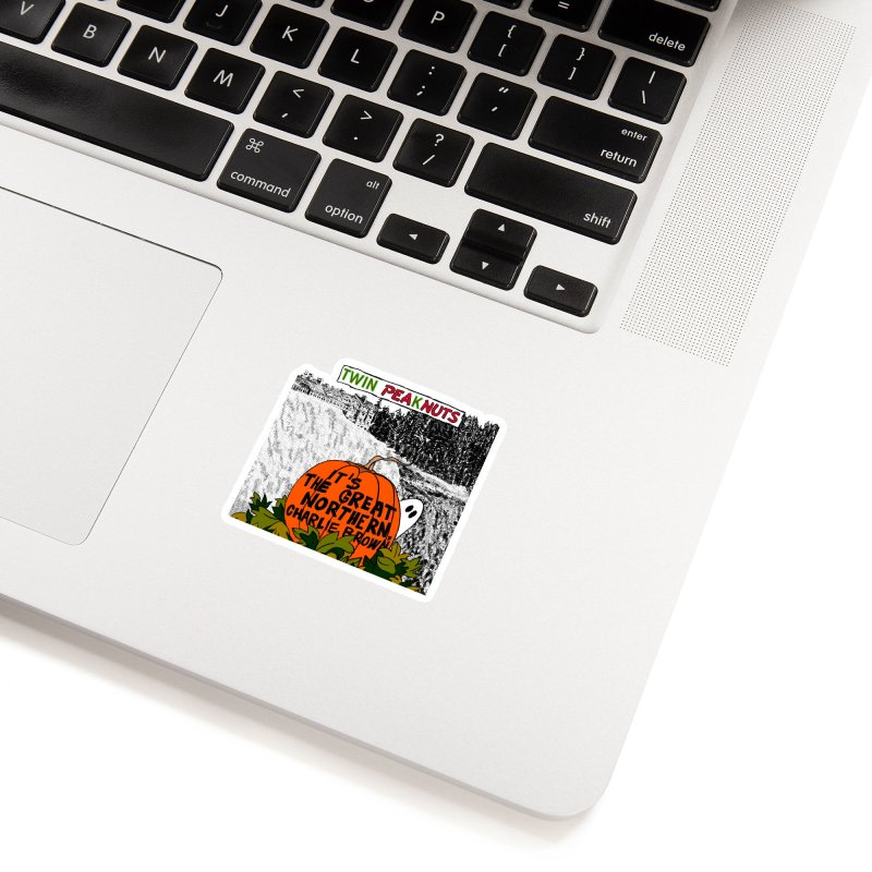 A Most Sincere Pumpkin Patch (blk) Accessories Sticker by Smokeproof