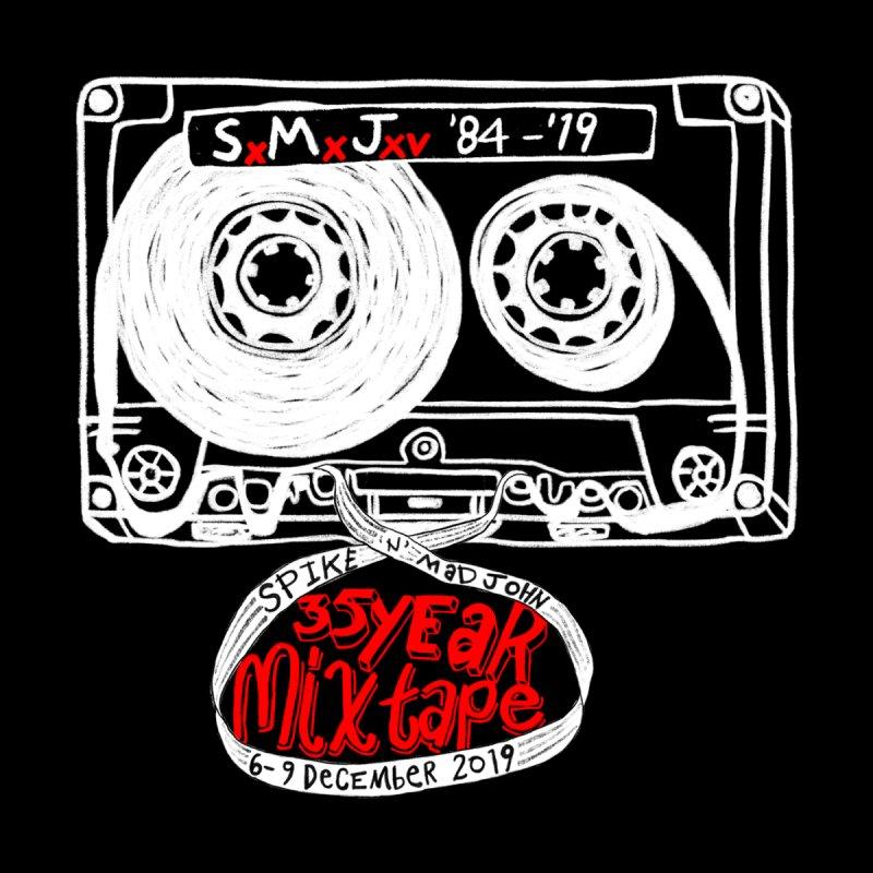 SMJ XXXV Cassette, White Men's T-Shirt by Smokeproof