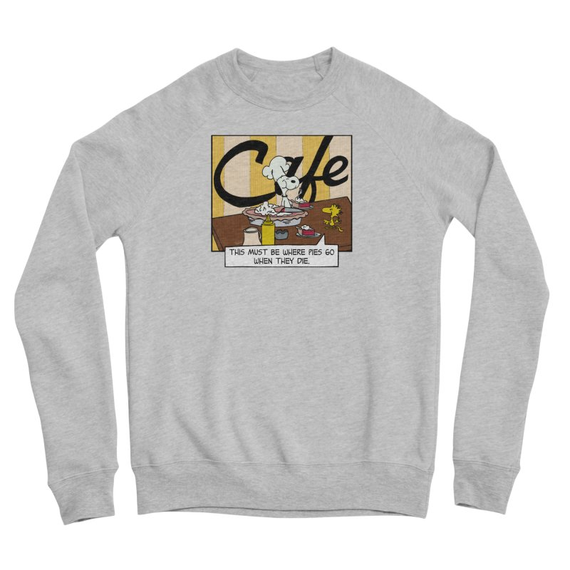 Where Pies Go When They Die Men's Sweatshirt by Smokeproof