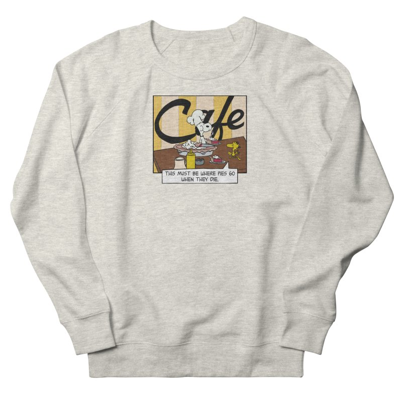 Where Pies Go When They Die Women's Sweatshirt by Smokeproof