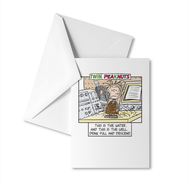 Pigpen Woodsman Accessories Greeting Card by Smokeproof