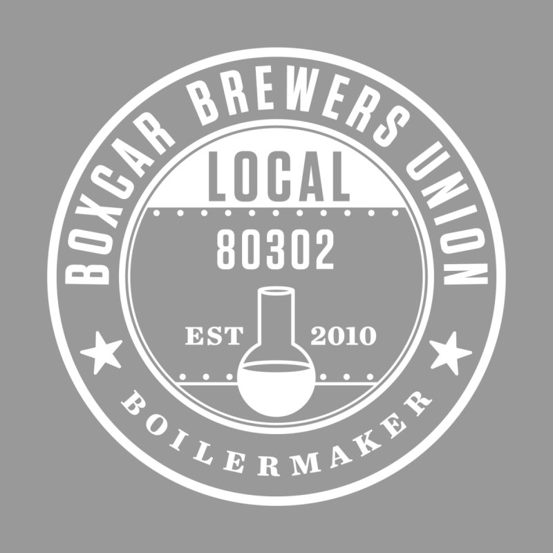 Brewer's Union Badge, White Women's V-Neck by Smokeproof