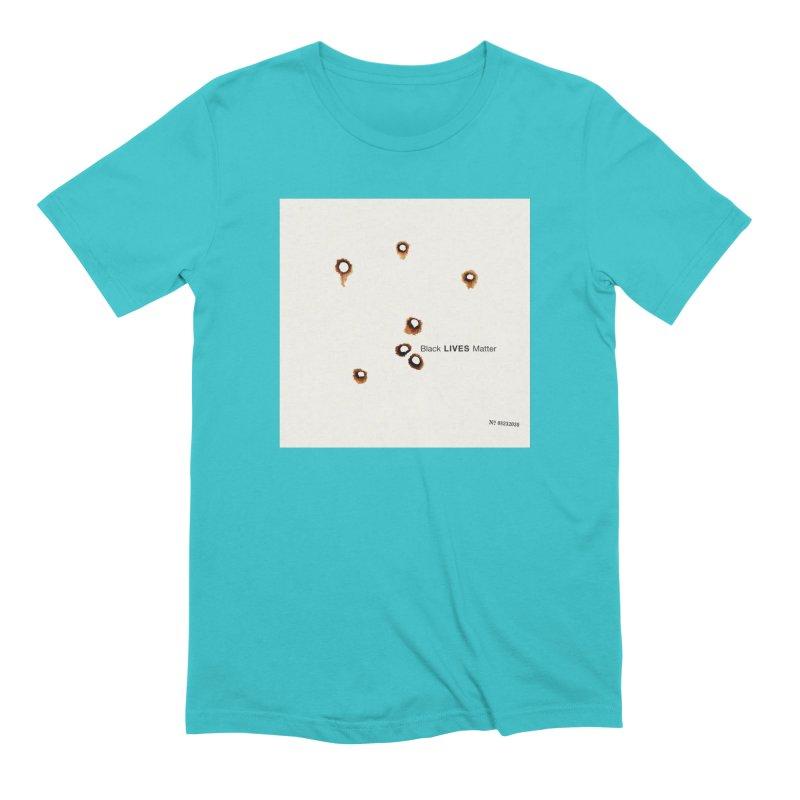 BLM Mashup: The Blake Album Men's T-Shirt by Smokeproof