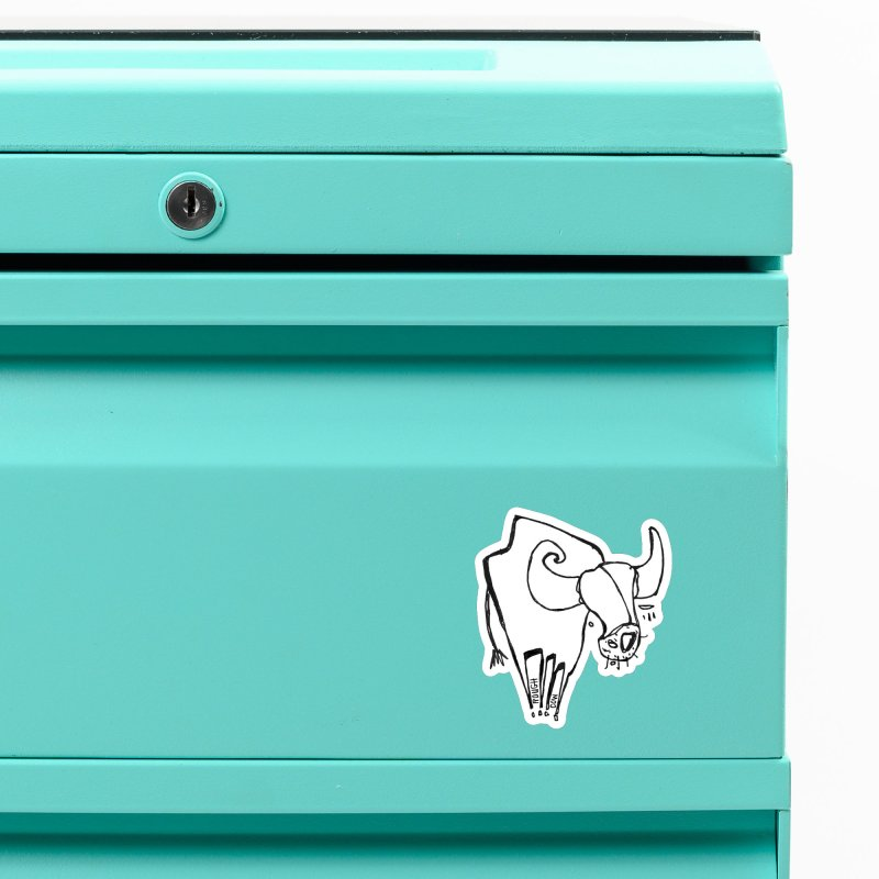 Rough Cow: Mikkeline Accessories Magnet by Smokeproof
