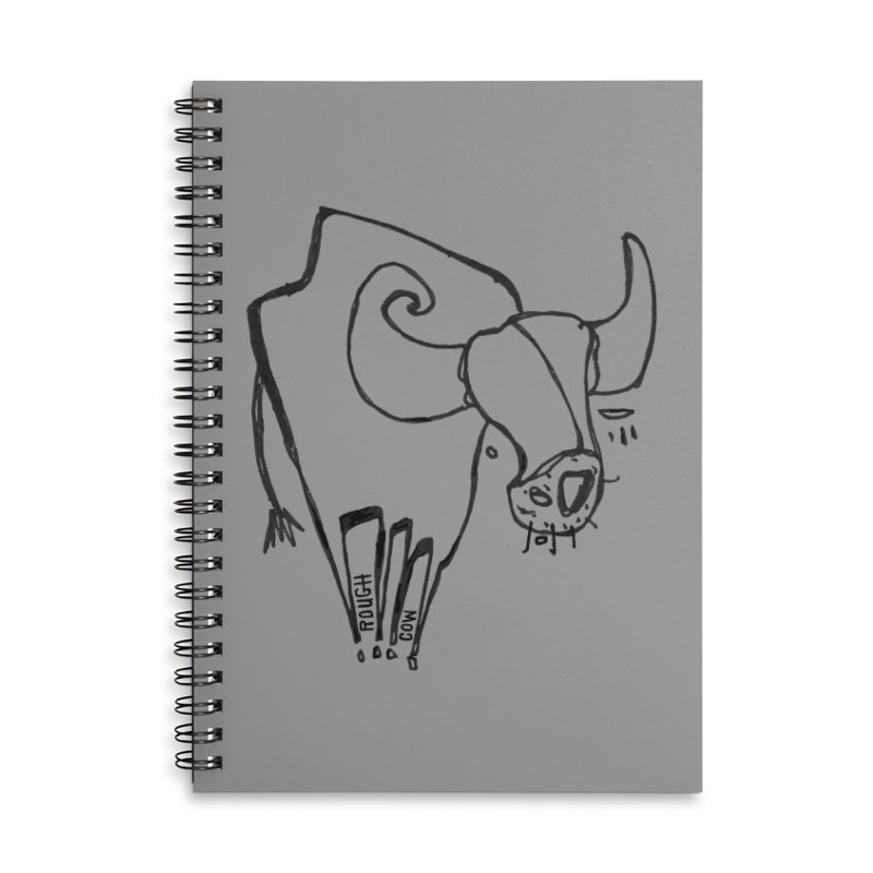 Rough Cow: Mikkeline Accessories Notebook by Smokeproof