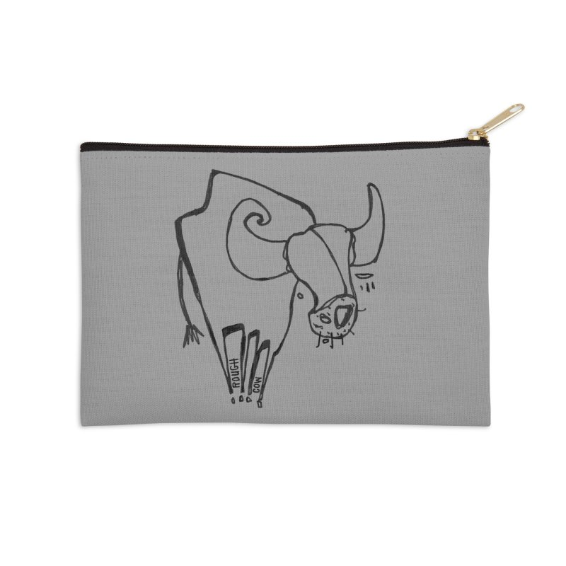 Rough Cow: Mikkeline Accessories Zip Pouch by Smokeproof