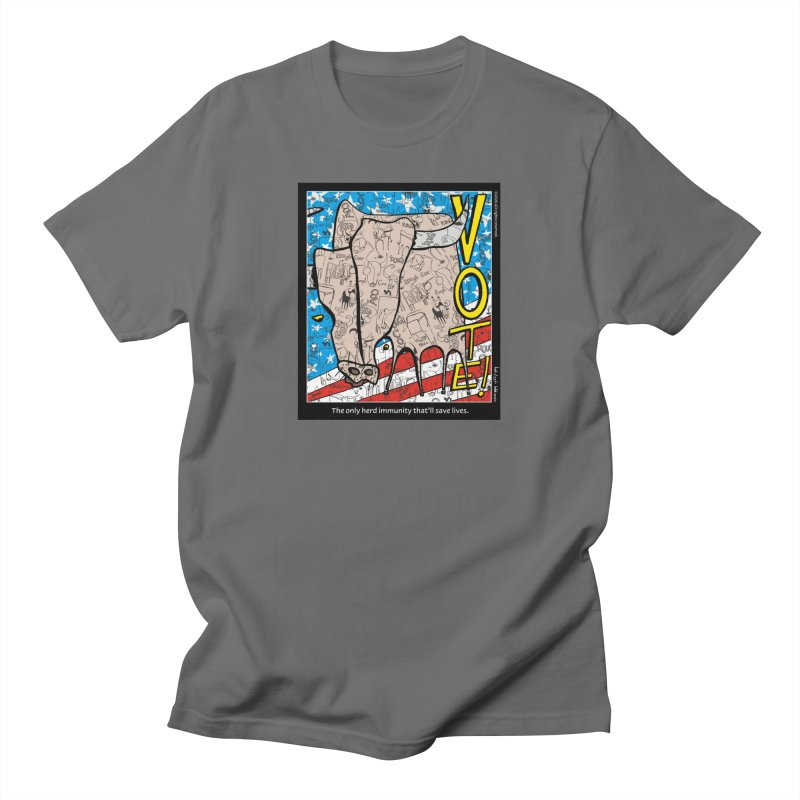 Herd Immunity Men's T-Shirt by Smokeproof