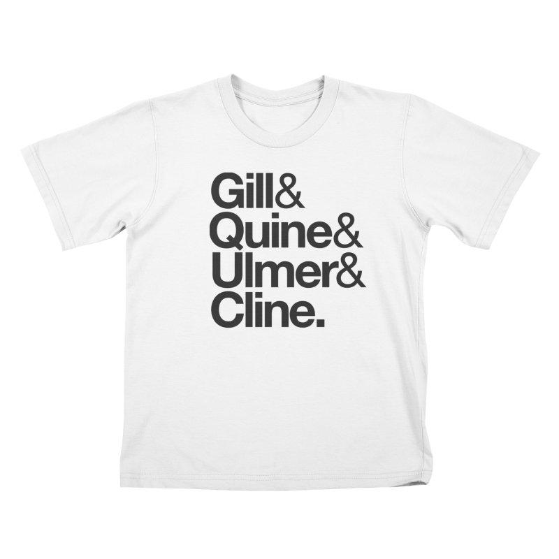 Fanboy Dreamteam 1 (dk) Kids T-Shirt by Smokeproof