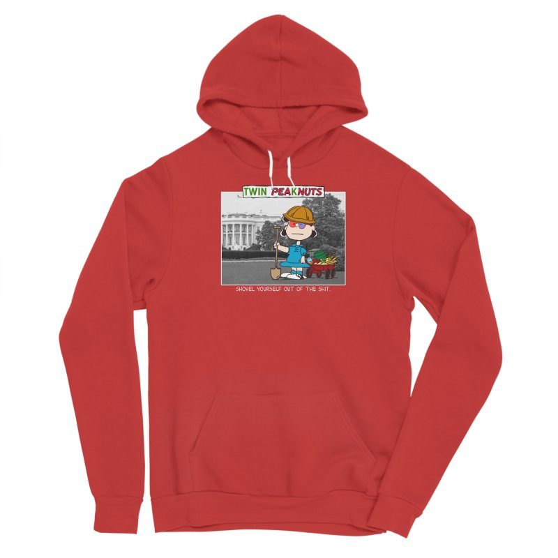 Democracy: Accept No Substitutes (wht) Women's Pullover Hoody by Smokeproof