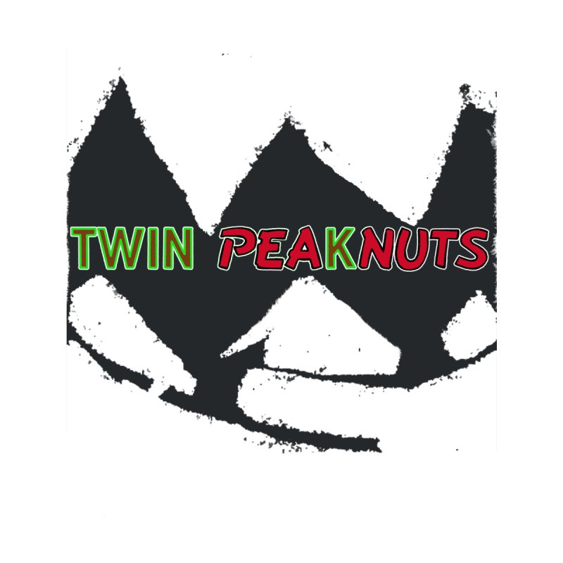 Twin Pea(k)nuts Mashup Logo (blk) Women's Pullover Hoody by Smokeproof