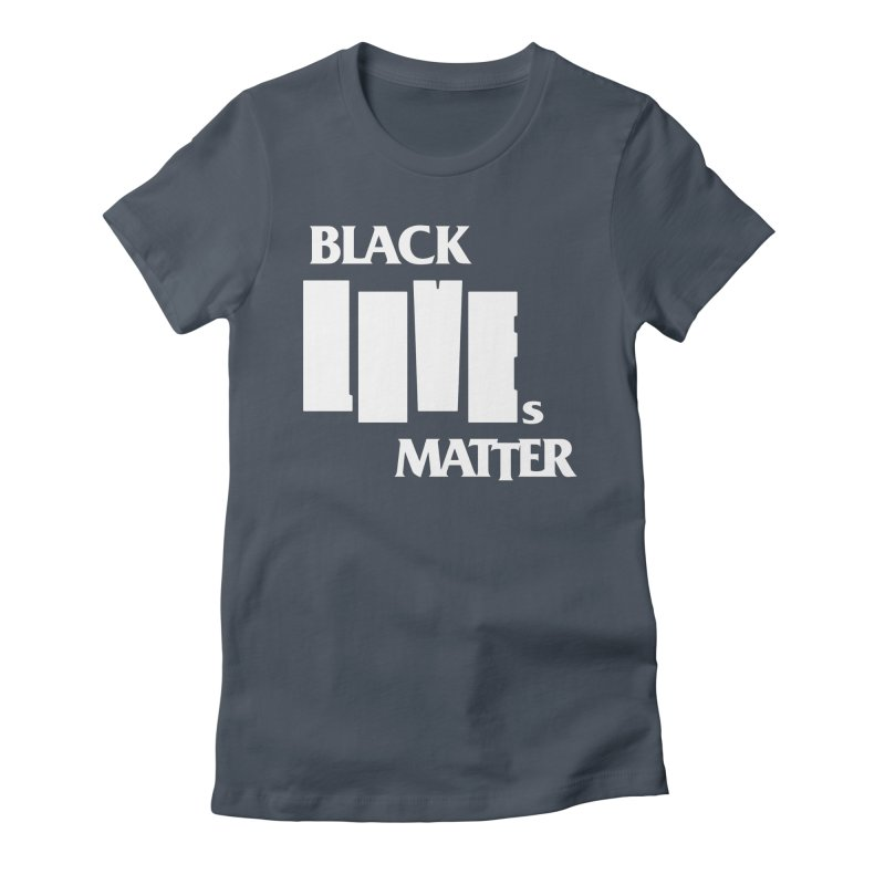 BLM Mashup: Police Story 2020 (wht) Women's T-Shirt by Smokeproof