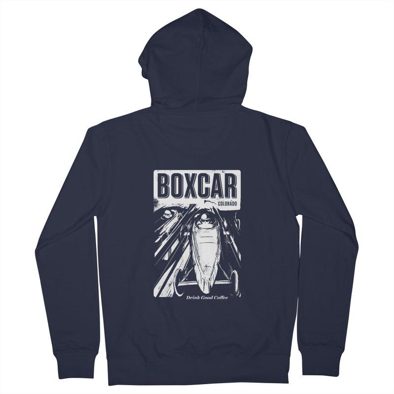 Boxcar Soapbox Racer 1 (wht) Women's Zip-Up Hoody by Smokeproof